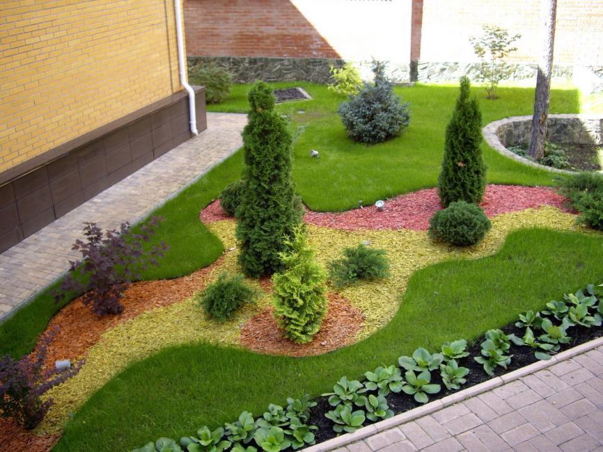 анал японки, газон и декор двора фото транспортное